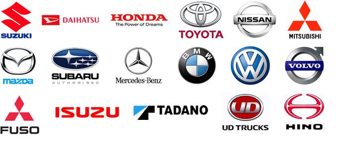 新車各種メーカー